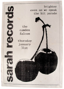 Poster for Brighter, Even As We Speak and the Hit Parade at the Camden Falcon