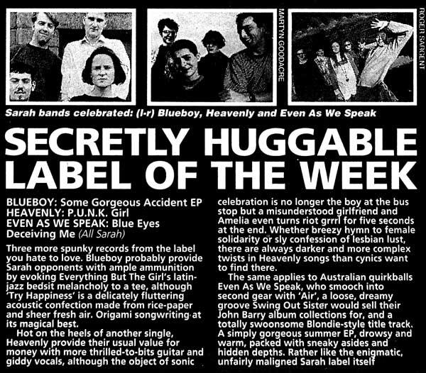 HuggableLableSOTW