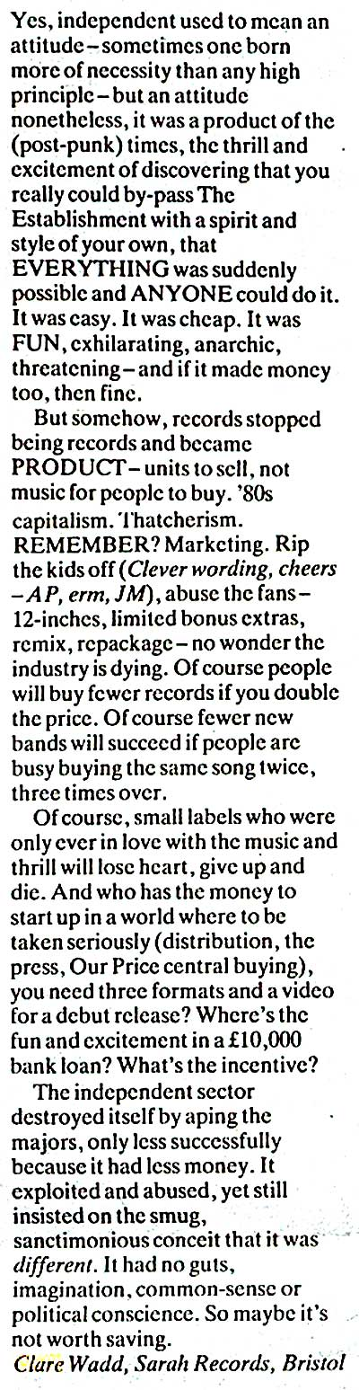 clare-letter-nme-15-aug-1992