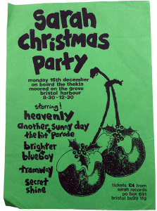 Sarah Records Christmas Party poster