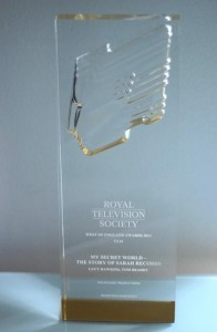 Royal Television Society award