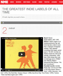 NME's list of greatest indie labels