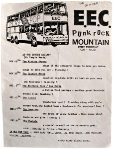 EEC Punk Rock Mountain flyer