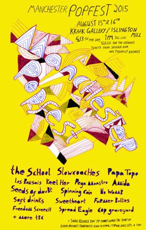 Manchester Popfest poster
