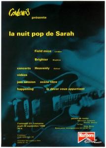 La Nuit Pop de Sarah