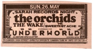 Orchids Underworld Advert