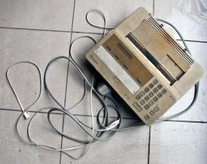 Sarah Records Fax Machine