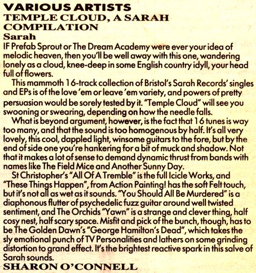 Temple Cloud Melody Maker